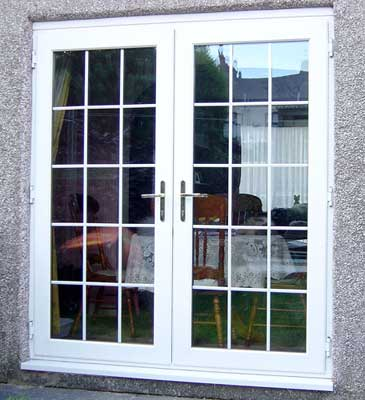 French Doors Are Available In Either Inward Or Outward Opening Option. They  Can Be Fitted With Or Without The Mid Rails.